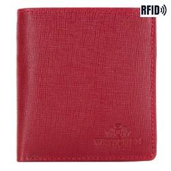 Кошелек, красный, 14-1S-046-3, Фотография 1