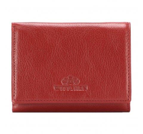 Женский маленький кожаный кошелек, красный, 21-1-032-L3, Фотография 1