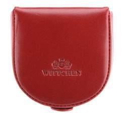 Женский кожаный кошелек в форме подковы, красный, 21-2-156-3, Фотография 1