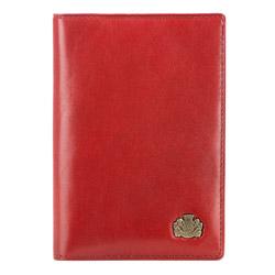 Обложка для паспорта, красный, 10-5-128-3, Фотография 1