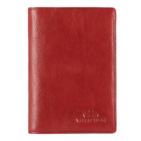 Обложка кожаная для паспорта, красный, 21-5-128-4, Фотография 1