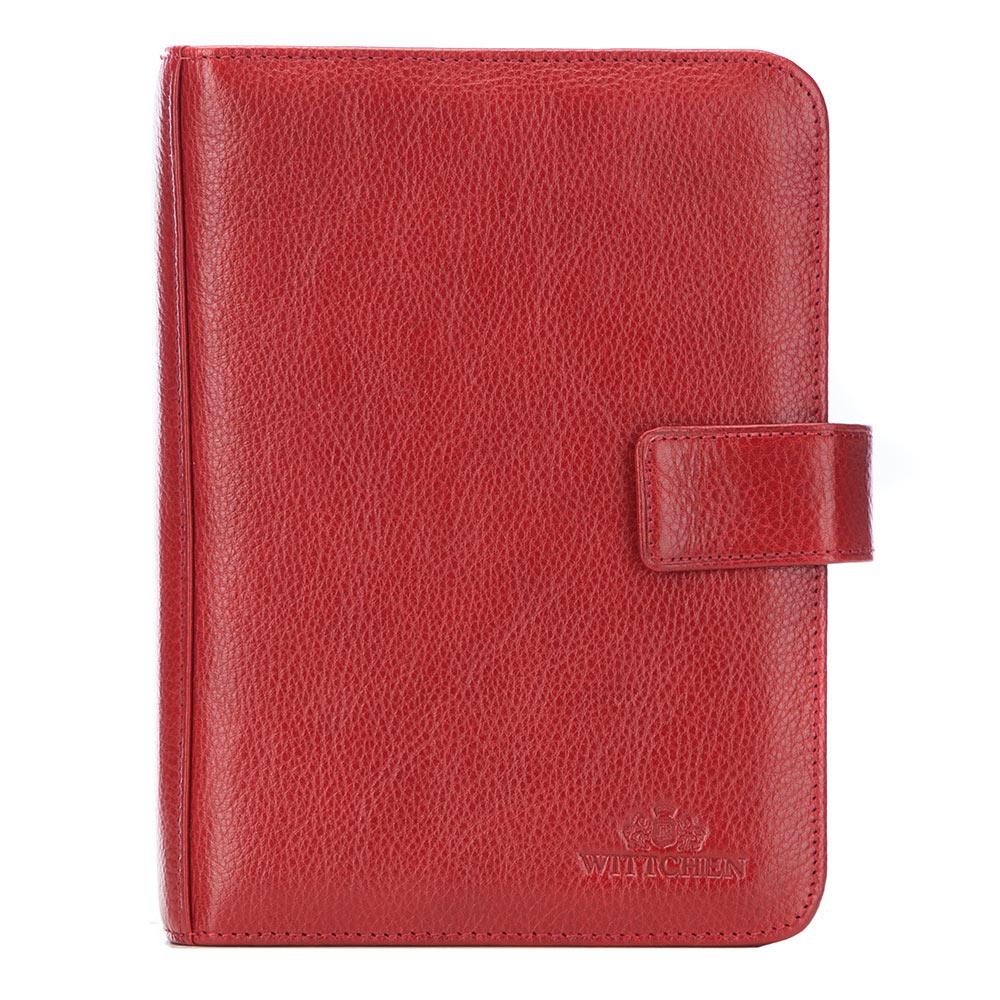 Органайзер кожаный для документов, красный, 21-5-003-1, Фотография 1
