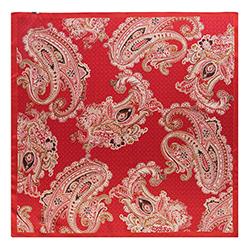 Платок женский, красный, 90-7D-S33-X3, Фотография 1