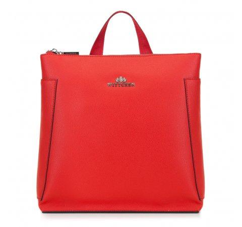 Рюкзак женский, красный, 89-4-705-3, Фотография 1