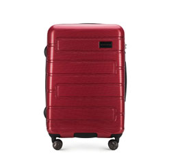 Средний чемодан, красный, 56-3P-832-30, Фотография 1