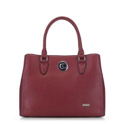 Женская сумка-шоппер, красный, 91-4Y-610-3, Фотография 1