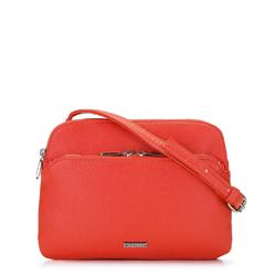 Женская сумка через плечо с двумя отделениями, оранжевый, 92-4Y-301-P, Фотография 1