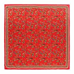 Платок женский, красный, 90-7D-S31-X2, Фотография 1