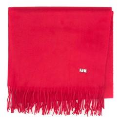 Женский классический шарф с бахромой, красный, 92-7D-X90-2, Фотография 1