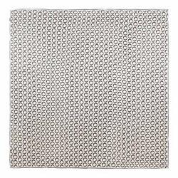 Nagy selyemkendő, krém-fekete, 93-7D-S45-8, Fénykép 1