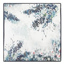 Közepes  méretű selyemsál, krém-zöld, 93-7D-S39-1, Fénykép 1