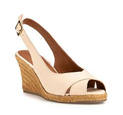 Dámské boty, krémová, 84-D-718-9-36, Obrázek 1