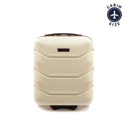 Kabinové zavazadlo, krémová, 56-3A-281-88, Obrázek 1