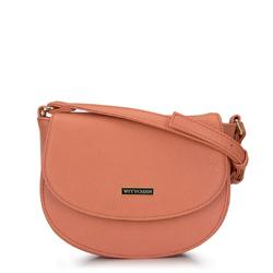 Nyereg tengelykapcsoló táska, lazac rózsaszín, 92-4Y-223-6, Fénykép 1