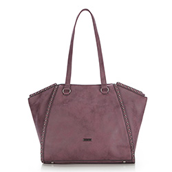 Einkaufstasche, lila, 87-4Y-567-V, Bild 1