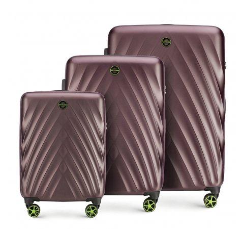 Gepäckset, lila, 56-3P-80S-44, Bild 1