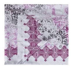 Damen-Schal, lila-grau, 83-7D-X01-X01, Bild 1