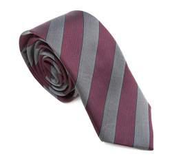 Krawatte, lila-grau, 83-7K-002-X01, Bild 1