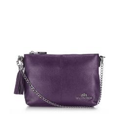 Handtasche, Umhängetasche, lila, 86-4E-456-F, Bild 1