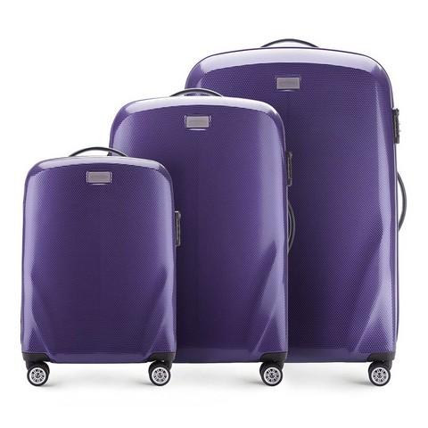 Kofferset 3-teilig, lila, 56-3P-57S-90, Bild 1