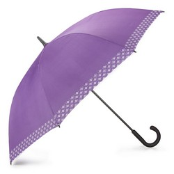 Regenschirm, lila - weiß, PA-7-160-X6, Bild 1