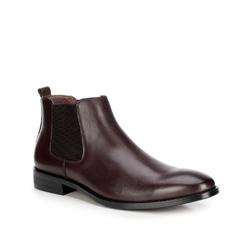 Pánské boty, mahagon, 89-M-923-2-42, Obrázek 1