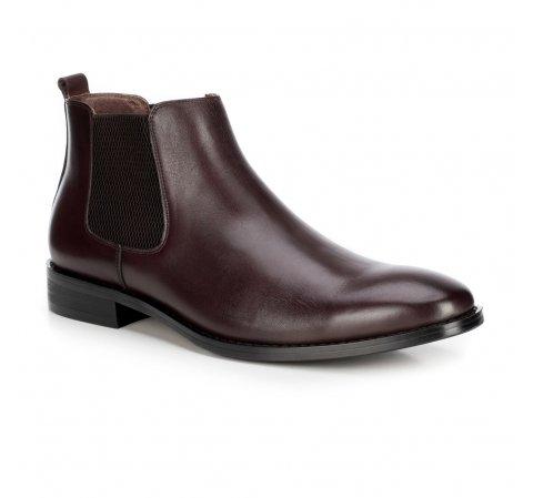 Férfi cipő, mahagóni, 89-M-923-1-41, Fénykép 1