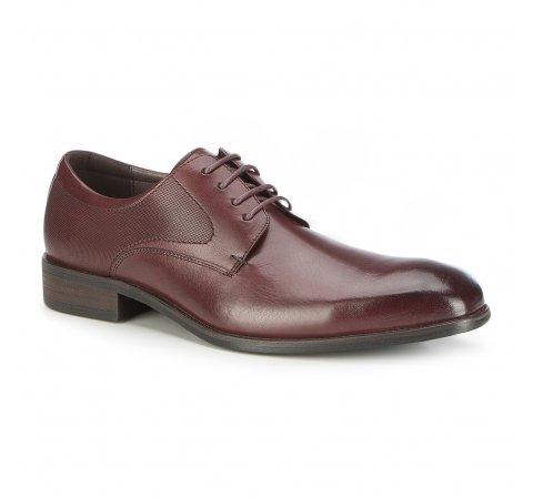 Männer Schuhe, Mahagoni, 87-M-907-2-44, Bild 1