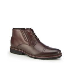 Männer Schuhe, Mahagoni, 87-M-939-2-44, Bild 1