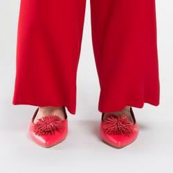 Női cipő, málnavörös, 86-D-560-3-35, Fénykép 1