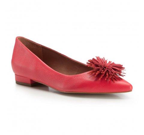 Női cipő, málnavörös, 86-D-560-7-35, Fénykép 1