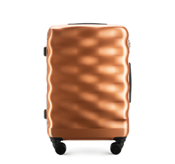 Střední cestovní kufr, měďená, 56-3H-562-60, Obrázek 1