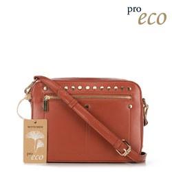 Женская сумка через плечо из экокожи, медный, 91-4Y-252-5, Фотография 1