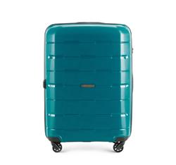Mittelgroßer Koffer 68 cm, meerblau, 56-3T-722-99, Bild 1