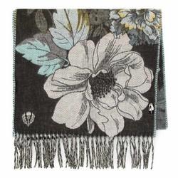 Женский шарф с цветочным узором, многоцветный, 91-7D-X25-X2, Фотография 1
