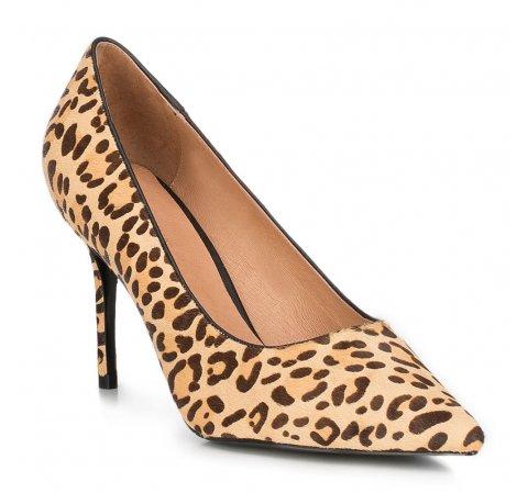 Туфли на шпильке с леопардовым принтом, многоцветный, 89-D-903-A-41, Фотография 1