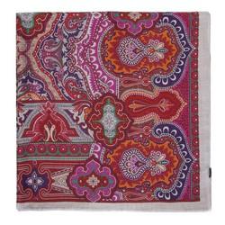 Женский модальный шарф с рисунком, многоцветный, 91-7D-X03-X1, Фотография 1