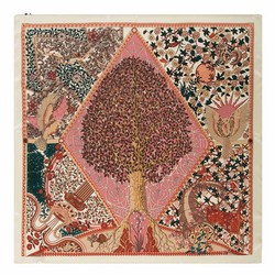 Женский платок, многоцветный, 90-7D-S22-X3, Фотография 1