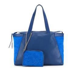 Dámská kabelka, modrá, 82-4E-007-7, Obrázek 1