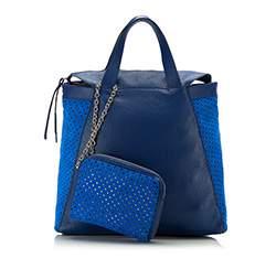 Dámská kabelka, modrá, 82-4E-009-7, Obrázek 1
