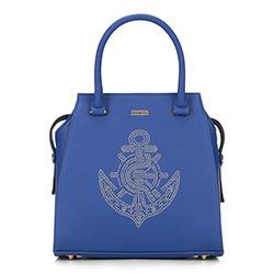Dámská kabelka, modrá, 87-4Y-767-N, Obrázek 1