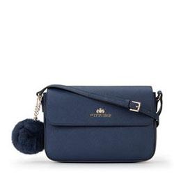 Dámská kabelka, modrá, 89-4-435-N, Obrázek 1