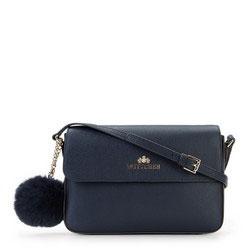 Dámská kabelka, modrá, 89-4-535-N, Obrázek 1