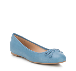 Dámské boty, modrá, 88-D-258-N-36, Obrázek 1