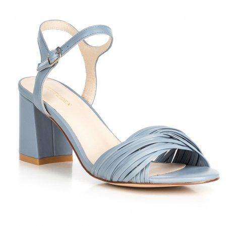 Sandály na širším podpatku