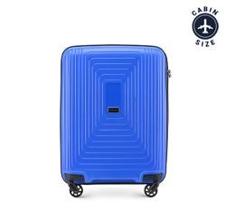 Kabinový cestovní kufr, modrá, 56-3T-781-90, Obrázek 1