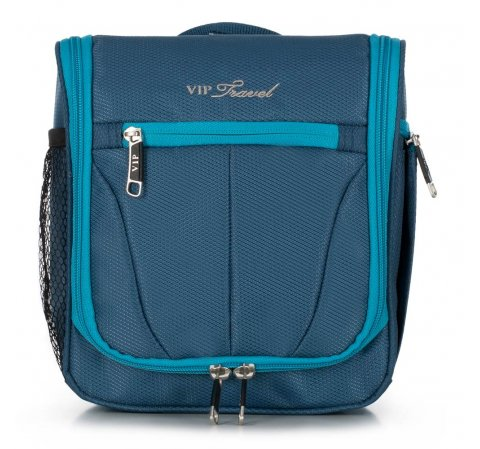 Kosmetická taška, modrá, V25-3S-234-01, Obrázek 1