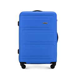 Střední kufr, modrá, 56-3A-632-95, Obrázek 1