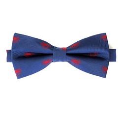 Vzorovaný hedvábný motýlek, modro-červená, 92-7I-001-X2, Obrázek 1
