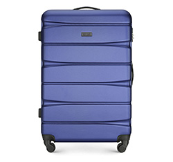 Velký kufr, modro-fialová, 56-3A-363-91, Obrázek 1